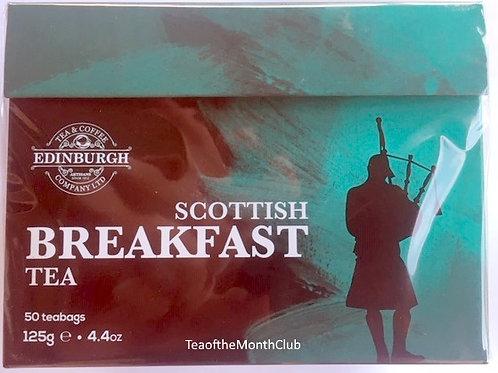 Edinburgh Scottish Breakfast Tea - 50 Bags