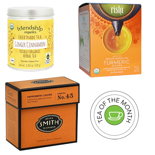 Herbal Tea of the Month Club - 3 Month