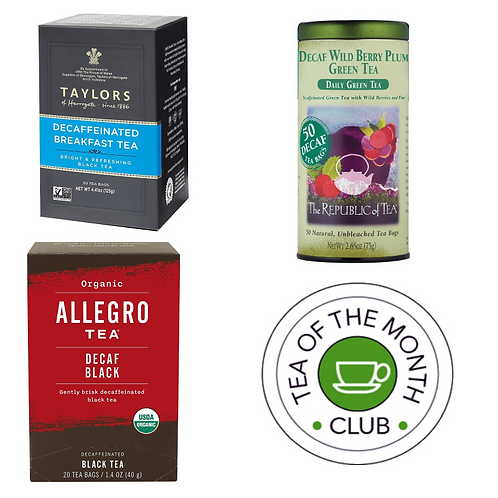 Decaf Tea of the Month Club - 3 Month