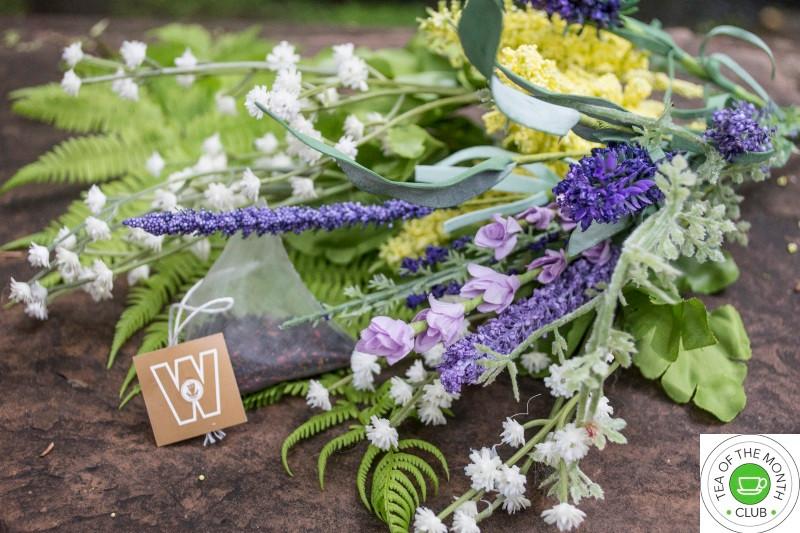 tea bag with lavender