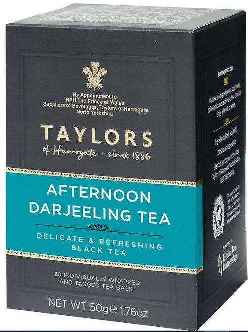 Taylors of Harrogate Afternoon Darjeeling Black Tea - 20 Tea Bags