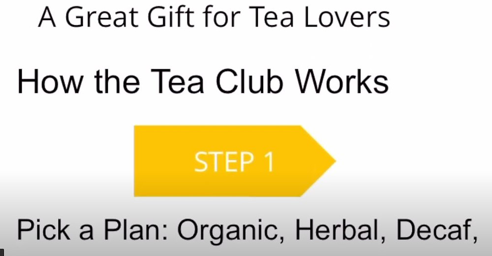 screenshot of tea of the month club