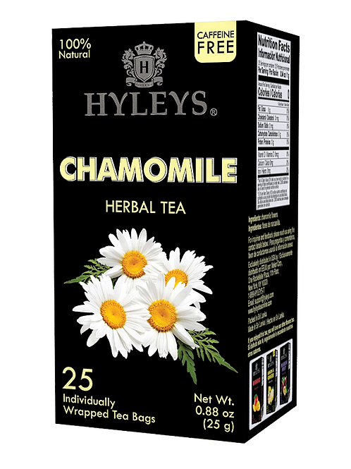 Hyleys Chamomile Herbal Tea - 25 Tea Bags