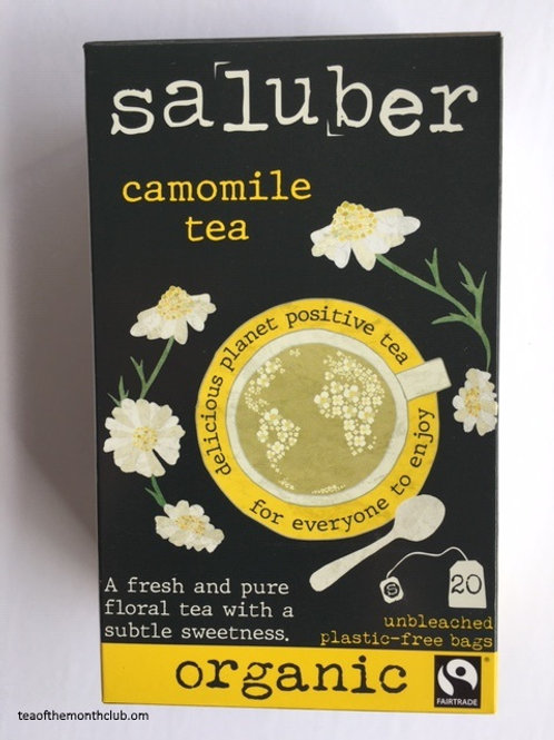 Saluber Organic Camomile Tea - 20 Tea Bags