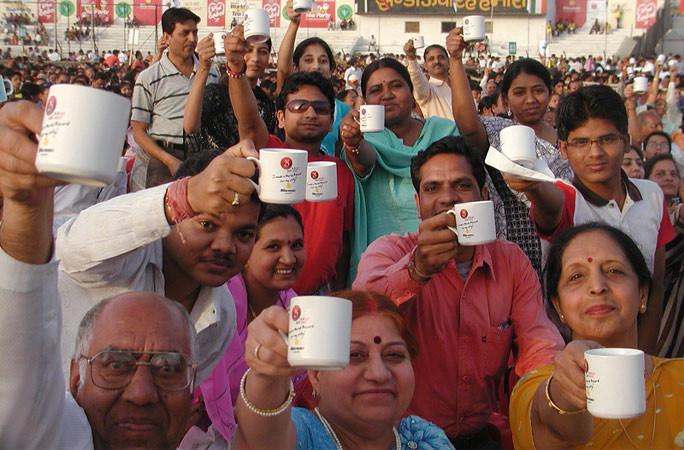 largest tea party