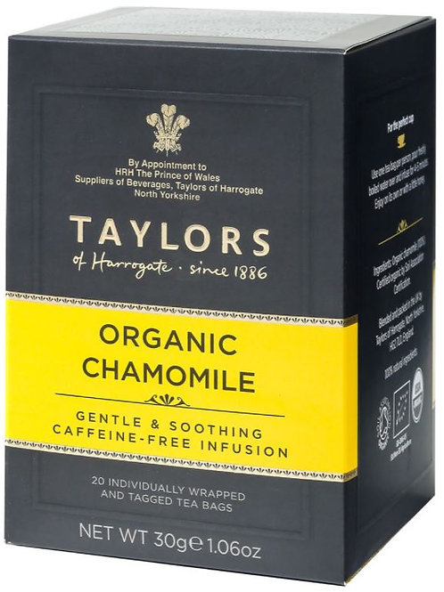 Taylors of Harrogate Organic Chamomile Tea - 20 Tea Bags