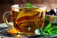 herbal tea in a mug