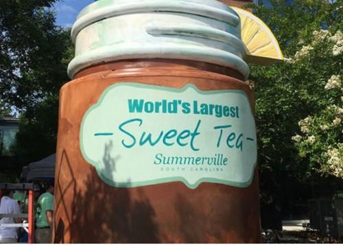 world's largest sweet tea