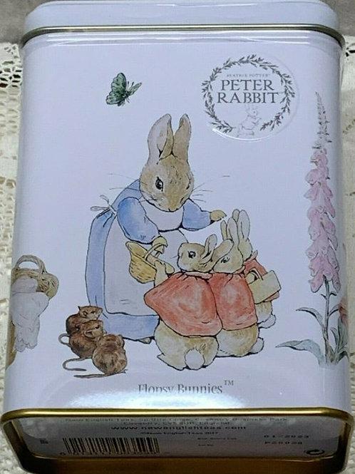 Peter Rabbit English Afternoon Tea Tin Flopsy Bunnies - 40 Tea Bags