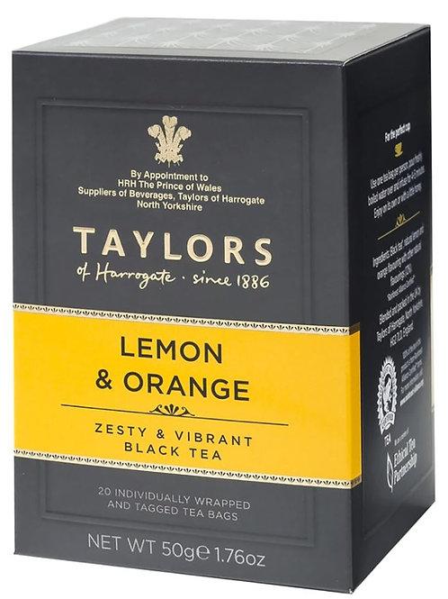 Taylors of Harrogate Tea Lemon & Orange Black Tea - 20 Count