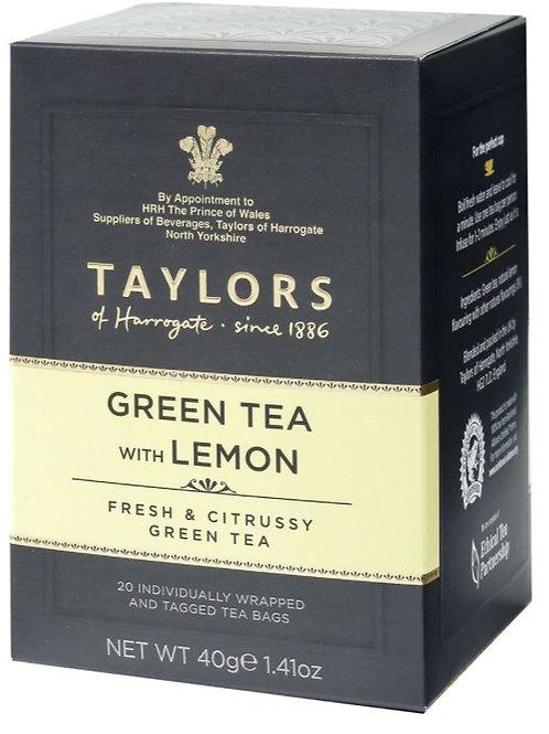 Taylors of Harrogate Green Tea with Lemon - 20 Count