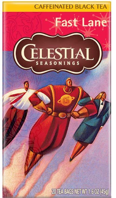 celestial seasonings fast lane tea