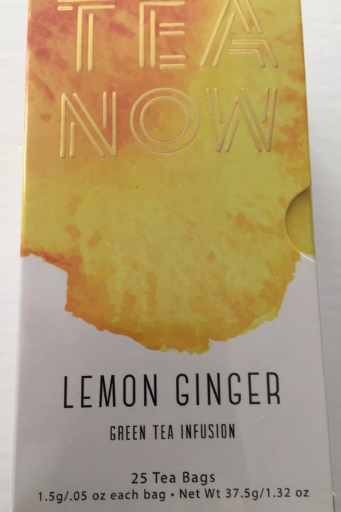 Tea Now Lemon Ginger Green Tea Infusion - 25 Tea Bags