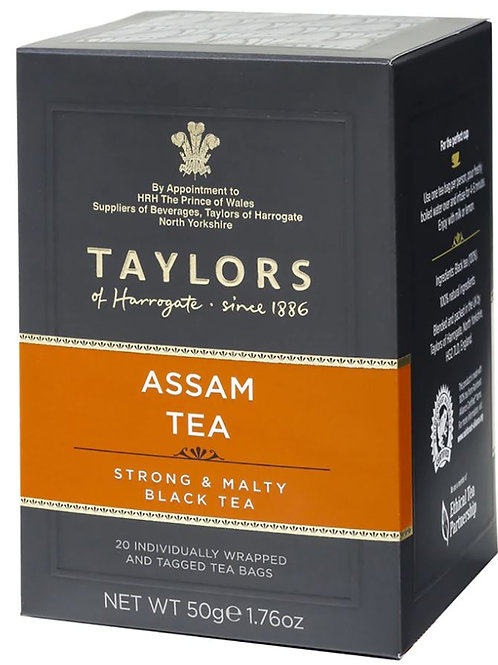 Taylor's of Harrogate Assam Tea - 20 Tea Bags