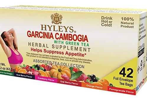 Hyleys Wellness Garcinia Cambogia Assorted Tea Collection - 42 Tea Bags