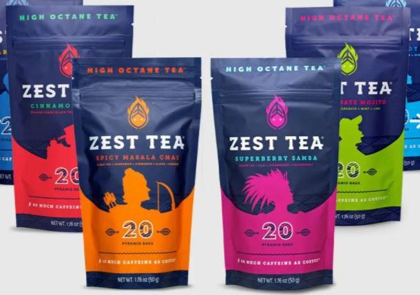 zest caffeine tea
