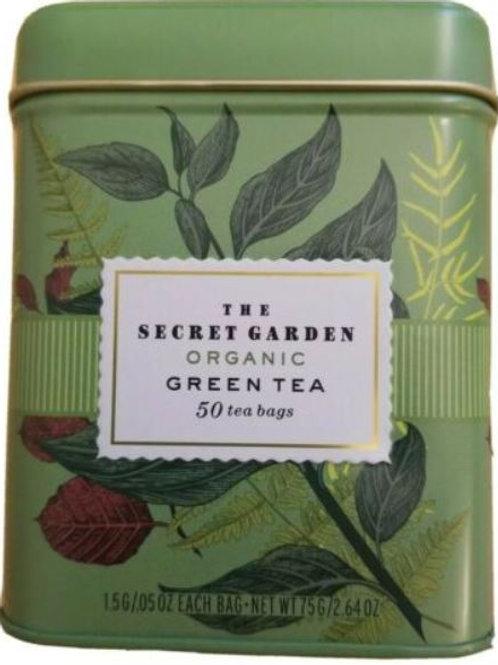 The Secret Garden USDA Organic Green Tea - 50 Bags