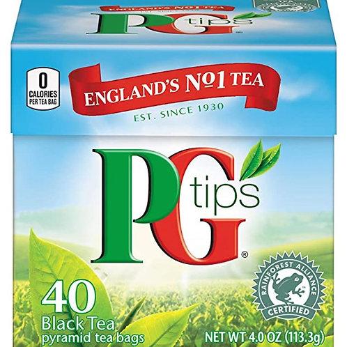 PG Tips Premium Black Tea - 40 Pyramid Tea Bags
