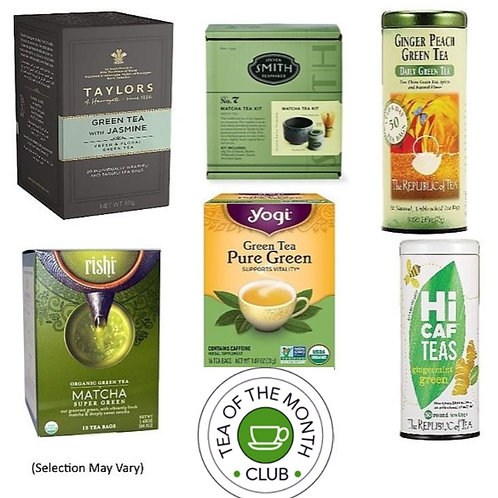 Green Tea of the Month Club - 6 Month