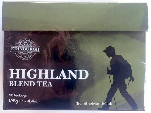 Edinburgh Highland Blend Black Tea - 50 Tea Bags