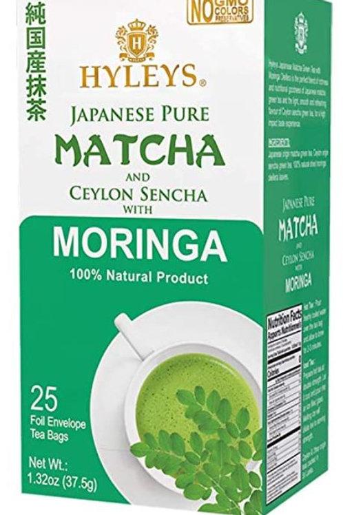 Hyleys Matcha Green Tea and Moringa - 25