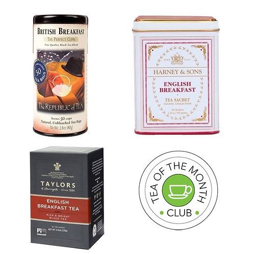 Black Tea of the Month Club - 3 Month Subscription Gift Box