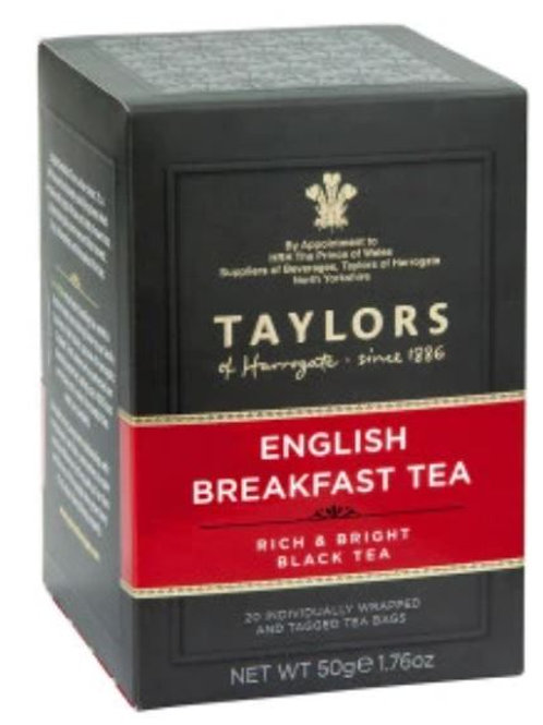 Taylors of Harrogate English Breakfast Tea - 20 Tea Bags