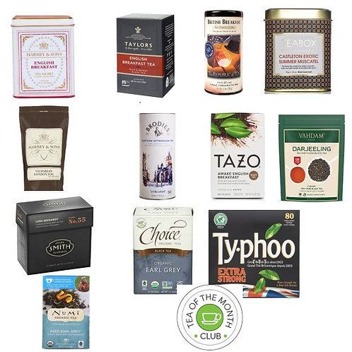 Black Tea of the Month Club - 12 Month