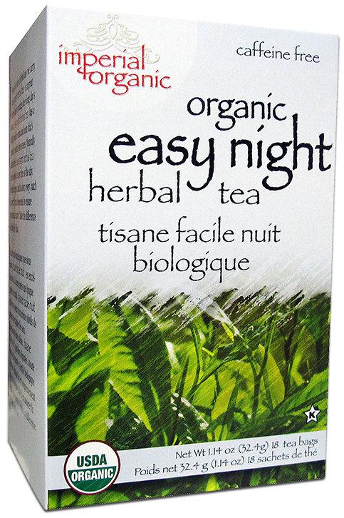 Imperial Organic Easy Night Herbal Tea- 18 Bags