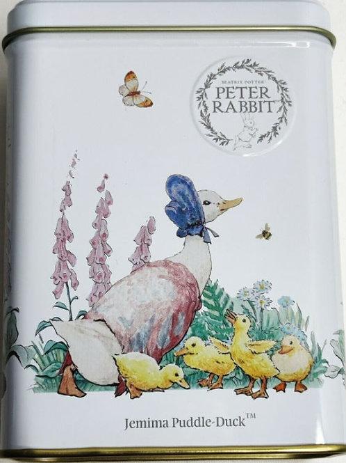 Peter Rabbit Earl Grey Tea Jemima Puddle Duck in a Tin - 40 Tea Bags