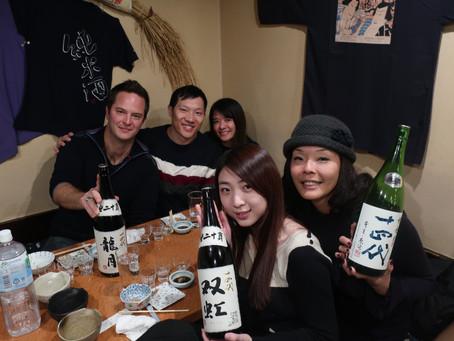 與AWSEC的Corinne梅老師淺談日本清酒