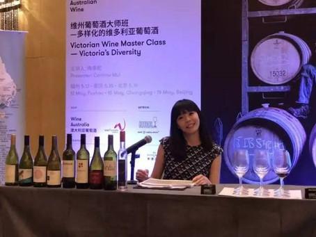 香港星級葡萄酒講師梅康妮(Corinne),一日無酒不成詩