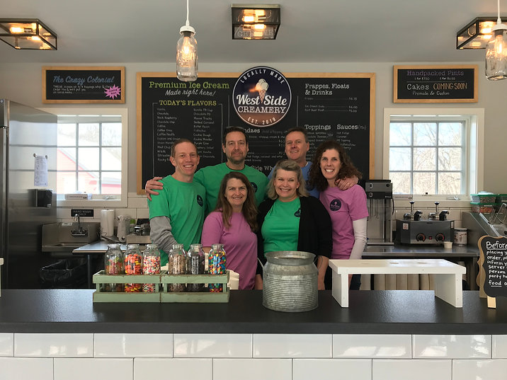 West Side Creamery owners