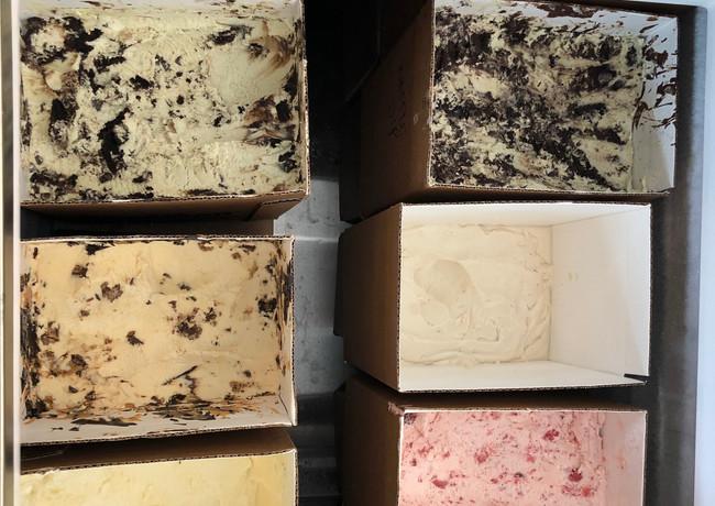 Ice cream case