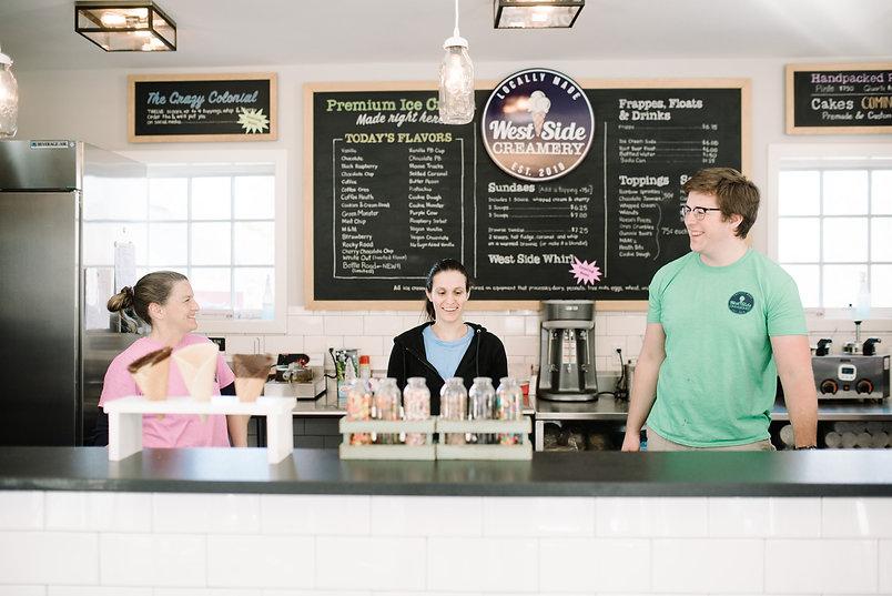 West Side Creamery staff