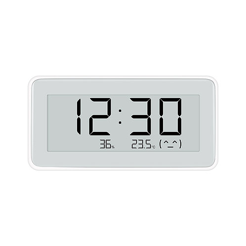 Hygrometer Thermometer Monitoring Clock