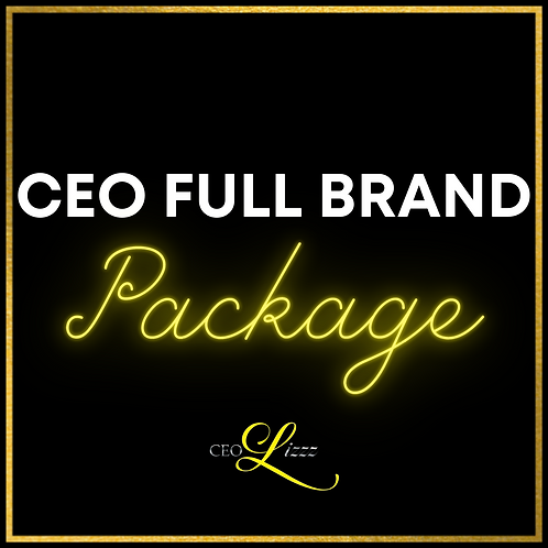 CEO FULL BRAND PACKAGE