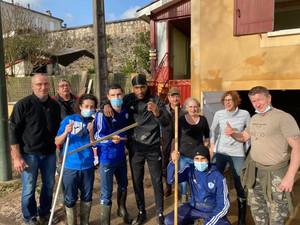 Solidarité : Le FCM47 prête main forte aux riverains