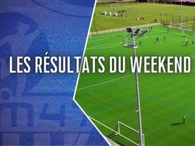 Club - Les résultats du weekend du 4 et 5 septembre