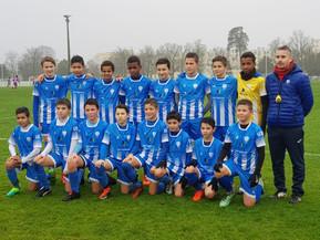 Les U13 au tournoi de Mérignac.