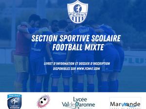 SSS Football Mixte : les inscriptions pour la rentrée 2021 sont ouvertes
