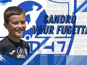 Jeunes - Le jeune Sandro Vaur Fugetta arrive en provenance du Groupement Val de Guyenne