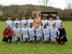 Les U18 de l'entente Marmande - Ste Bazeille en finale de la coupe du district.