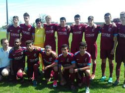 Les U15 en finale de la Coupe Fouchy.