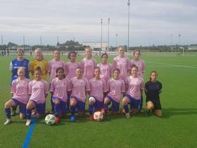 Club - Vêtues de rose, les marmandaises U14/U15 brillent contre Bergerac