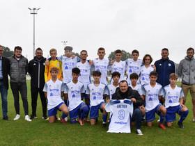 Sponsoring - Un jeu de maillot offert aux U16 par GCTS Inox