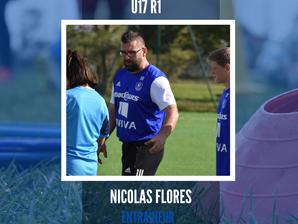 INTERVIEW - Nicolas Flores (Coach U17) nous parle du confinement.