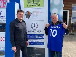 Club - Visite de Robert Arici au Stade Michelon