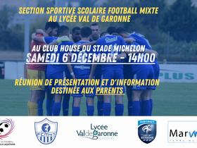 Section sportive scolaire : une réunion d'information organisée ce samedi à Michelon.