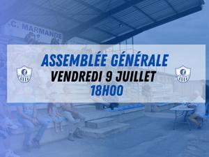 Club - L'Assemblée Générale se tiendra le vendredi 9 Juillet au Stade Michelon